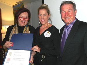 Rotary's honour for Karen Brus