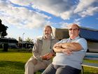 Len Hogg and Tom George are setting up a new caravan activist group. Photo: Nolan Verheij-Full / Tweed Daily News