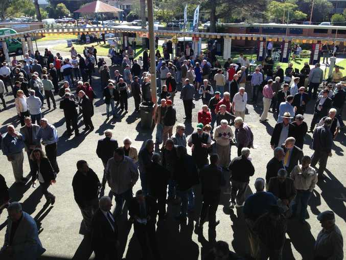An even bigger crowd is expected at today's Grafton Cup Day.
