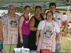 BUSY TEAM: More than 30 stalls at the Rose City Country Markets carry handcrafted wares from town and surrounds.