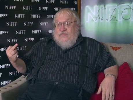 Author George R.R. Martin gives the finger to questions he may die before finishing the book series that created Game of Thrones television series.