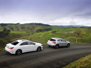 Mercedes-Benz CLA 250 and GLA 250 4Matic road test review