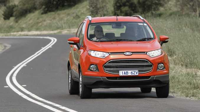 The Ford Ecosport in Titanium specification.