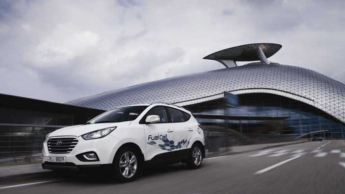 The Hyundai ix35 Fuel Cell.
