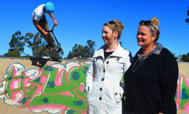 DEDICATED: More than 1000 Maranoa kids have had something to do these holidays thanks to Maranoa council workers Lizzie Elmes and Janet Hogarth.
