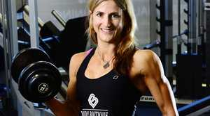 Body Boutique member Megan Axelsen of Karalee overcame anorexia to achieve success in the Australian Natural Physique Championships. Photo: David Nielsen / The Queensland Times