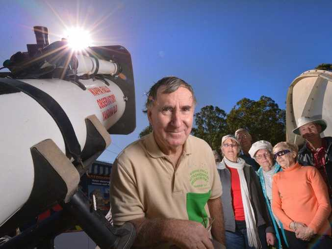 Wappa Falls Observatory owner Owen Bennedick believes a surge in sunspots caused incidents like the beached whale on Gold Coast this week.