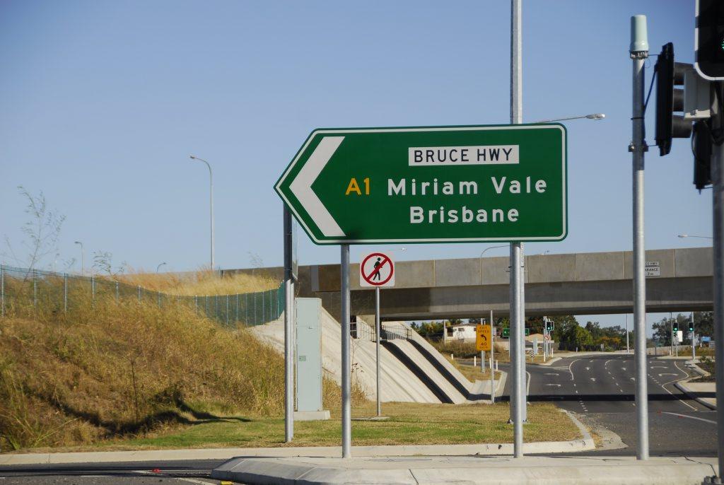 Bruce Highway.