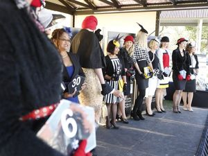 Hot fashions on the field at the races