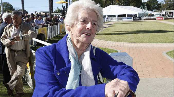 FREQUENT VISITOR: Anne Munsie has travelled from Sydney to Grafton every year since 1962 for the July Racing Carnival.
