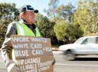 I won't give up until I get a job, says sign waver