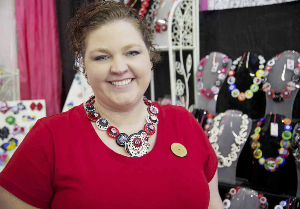 EXCITING RETURN: Kylie van der Beek from Addicted to Buttons will drive from Ipswich to make this weekend's Handmade Expo in Rockhampton.