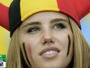 World Cup beauty scores contract after TV cameo