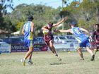 Touch - 2014 Junior State Carnival, Hervey Bay - U/18 boys Gold Coast V. Noosa. Isaac Vincitorio (Noosa). Photo: Alistair Brightman / Fraser Coast Chronicle