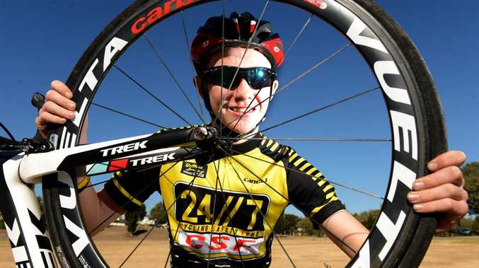 15-year-old Josh Beikoff was the youngest competitor in the 100km ride and finished second.