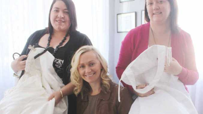 Donate wedding dresses to become \'angel gowns\' for babies ...