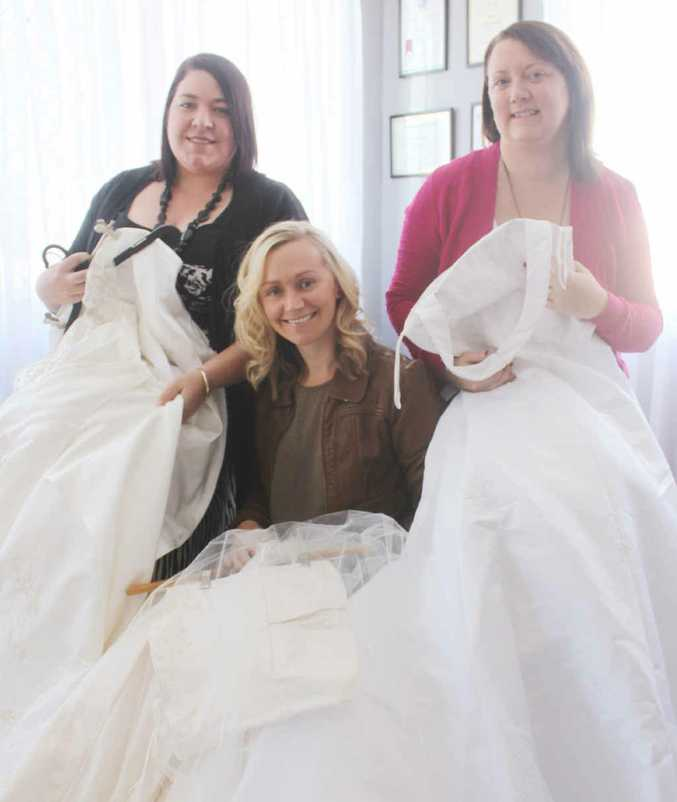 Donate Wedding Dresses To Become 'angel Gowns' For Babies