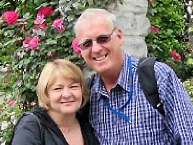Biloela-born Rodney Burrows and his wife Mary were on board Malaysia Airlines flight MH370.