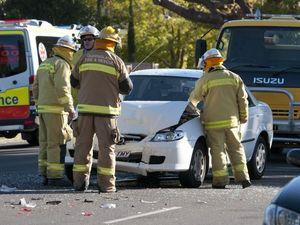 Two-vehicle crash causes peak-hour congestion