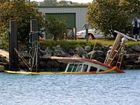 Trawler sinks in Yamba Harbour
