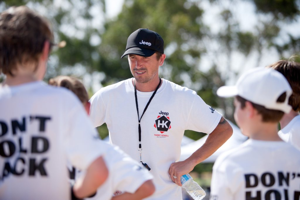Harry Kewell will be putting kids through their paces when he brings his Harry Kewell Academy to Hervey Bay in September. Photo by Nice Bike.