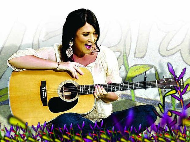MUSTER BEEN BORN A STAR: Country music singer-songwriter Sara Storer is this year's Buy A Bale ambassador for the Muster.