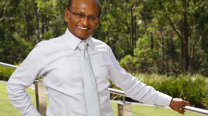 HUMBLE BEGINNINGS: Maha Sinathamby one of the richest men in Australia.