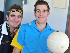 Swimmer, footy player dive into Olympic side