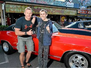 Muscle car club revs it up for Josh