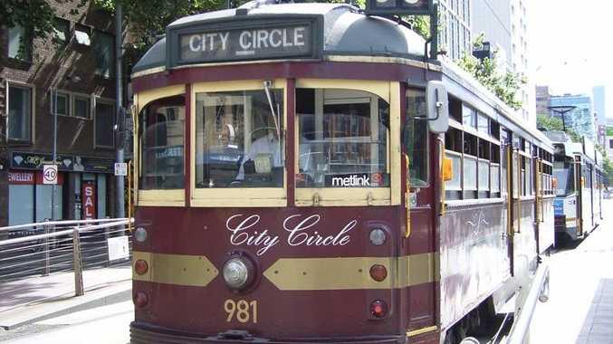 Melbourne's City Circle tram.
