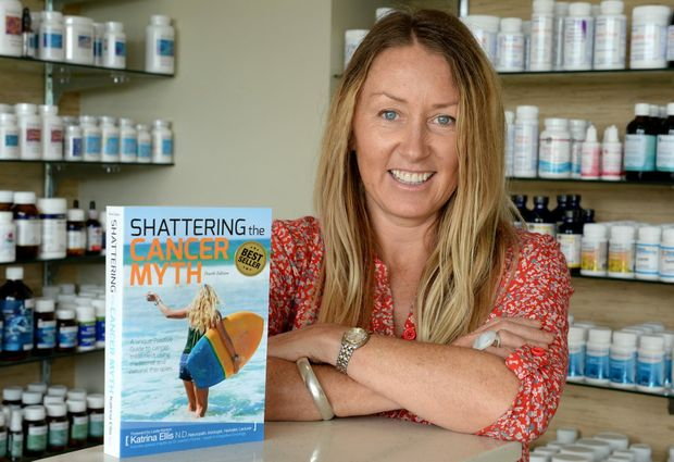 Katrina Ellis, Author,natural medicine expert. Photo: John Gass / Tweed Daily News