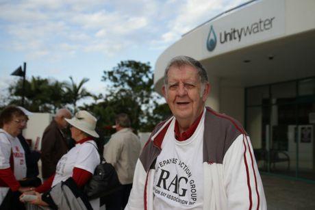 Ratepayers Action Group spokesman Dennis Austen. Photo Jorge Branco / Caboolture News