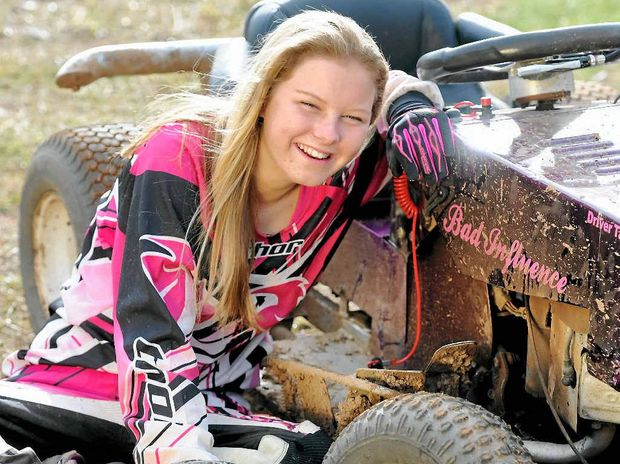 Queensland First Mower Racing Champion, Tahlia Neilsen,14, is Queensland's first ladies championships winner. Tahlia is also the youngest competitor.