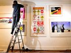 Art by John Lennon to share wall space with Bentley photos