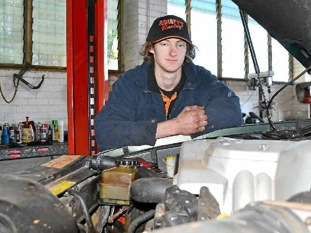 CHAMPION APPRENTICE: Angus Munro is heading off to Perth in September to compete for a national title.