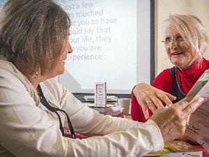 Author inspires region's budding writers