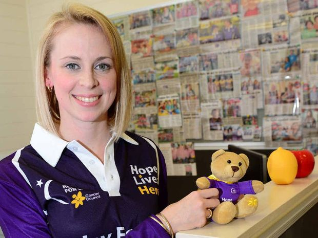PASSIONATE: Ashlee Hansen settles into her new role as the Rockhampton Relay for Life co-ordinator.