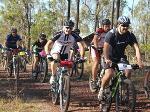 Mountainbike racing an up and down challenge