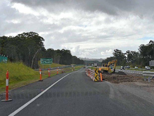 UP TO SPEED: The new on-ramp on to the Bruce Hwy means motorists leaving Aussie World at Palmview no longer have to run the gauntlet.