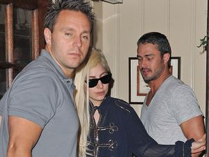 Lady Gaga and Taylor Kinney's commitment' ceremony
