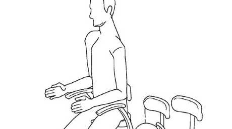 A new patent from Airbus to fit in more travellers on 'moped-style' seats