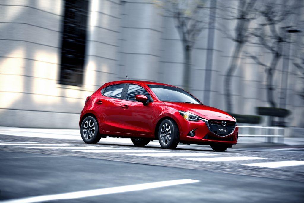 The new Mazda2.