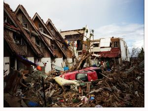 Tax prevents Coast's aid from reaching Philippines