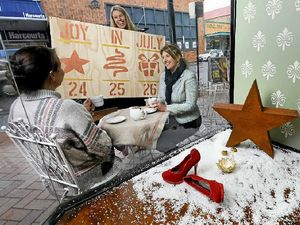 Christmas is coming early for city retailers