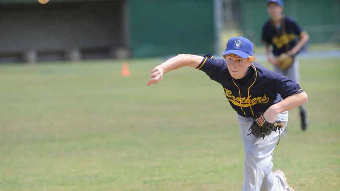 HAVING A BALL: Lismore's Kodey Wilford will represent Australia in the U15 team at the Baseball World Cup in Mexico later this month.