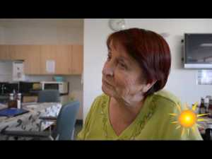 Stroke victim shares her story
