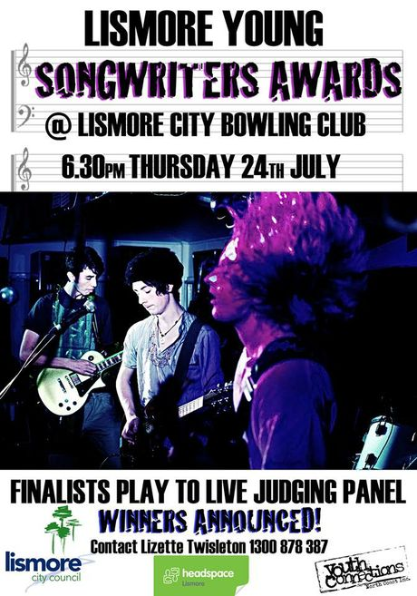 Lismore Young Songwriters Awards.