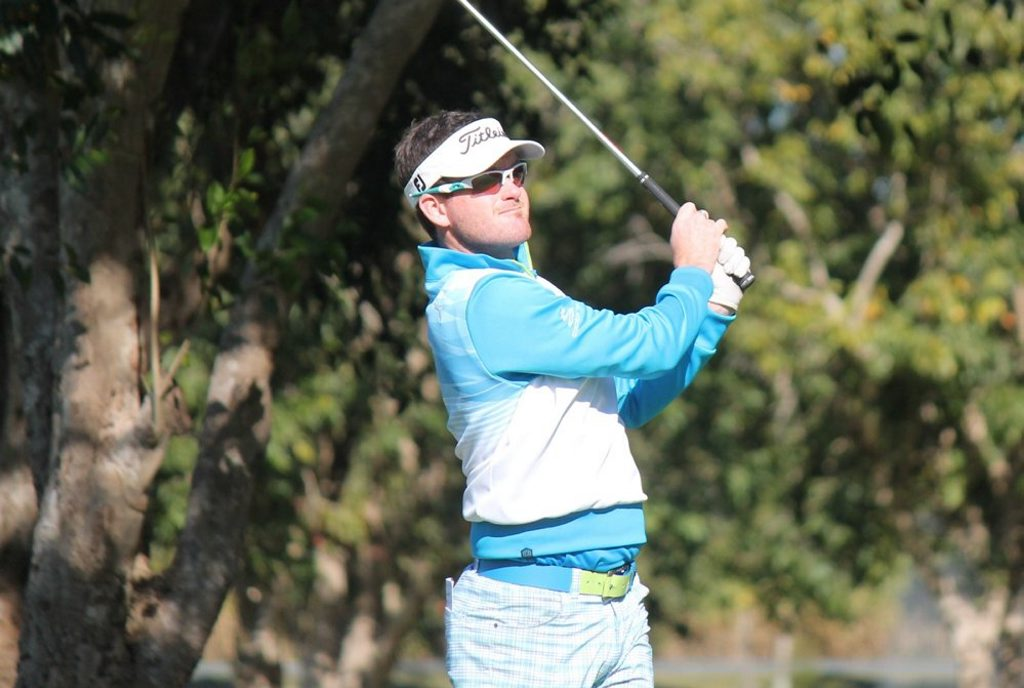 New Zealand golfer Josh Geary continues to be the benchmark in Central Queensland golf events.