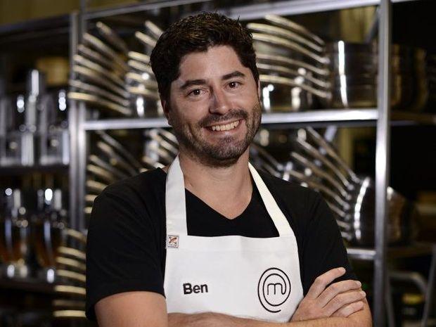 MasterChef Australia Top 6 finalist Ben MacDonald.
