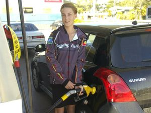 Motorist talks about petrol prices
